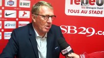 Football. Brest vs Nîmes (2-0) : Interview d'Alex Duport