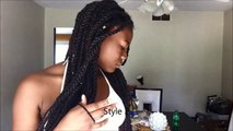 Easy Hairstyles For Marley Ttwists, Havana Twists and Box Braids
