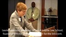 141211 CSB Levenson testimony, Director of Loyola Law Schools' Project Innocent