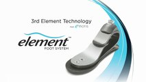 Element Prosthetic Foot System TM: an Emotis design, distributed worldwide by Fillauer LLC