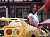 illegal street race exotic european cars bmw porsche ferrari