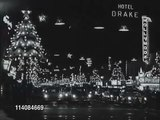 Vintage Christmas! Hollywood Blvd 1957