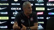 Tite condena juiz paulista na partida entre Corinthians e Sport