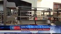 Ciudad de México.- XXVI Feria del Libro de Ocasión Memoria y libros en el Centro Histórico