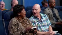 Most ANNOYING People on Planes w/ Patrick Stewart | What's Trending Now