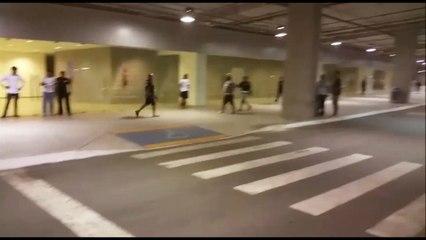 Torcida protesta e tenta invadir vestiário do Ceará