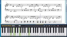 Free She's the One - Robbie Williams Piano Sheet Music Tutorial