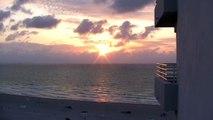 FREE stock video beach - stock footage - sunrise stock footage - ocean stockfootage FREE