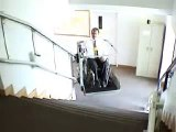Wheelchair Lift made by Garaventa                        Inclined Platform Lift