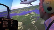"""F-22 Raptor Stealth Boeing CRVS: """"The Reality of Virtual Training"""" Tyndall AFB HD"""