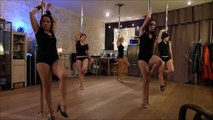 Adele - Rolling In The Deep - cabaret - Mein Herr - Chorégraphie pole dance -