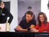 John Barrowman & Eve Myles Torchwood singing 1 (Nov 2011)