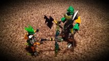 Lego bionicle stop motion animation skull spider ambush