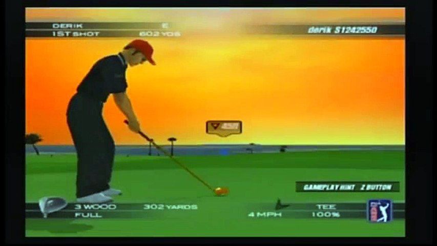 Tiger Woods PGA Tour 2004 | Round 1 Of a 4 Round Tournament
