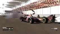 F1 codemasters Crashes Compilation