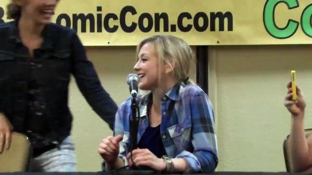 The Walking Dead Panel Featuring Emily Kinney & Lauren Cohan