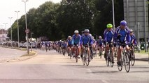 'Road-rage' death: Cyclists lead funeral procession