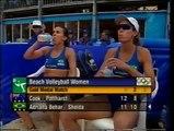 Sydney 2000 Olympics Women's Beach Volleyball Australia vs Brazil Gold Medal Match Final Stages
