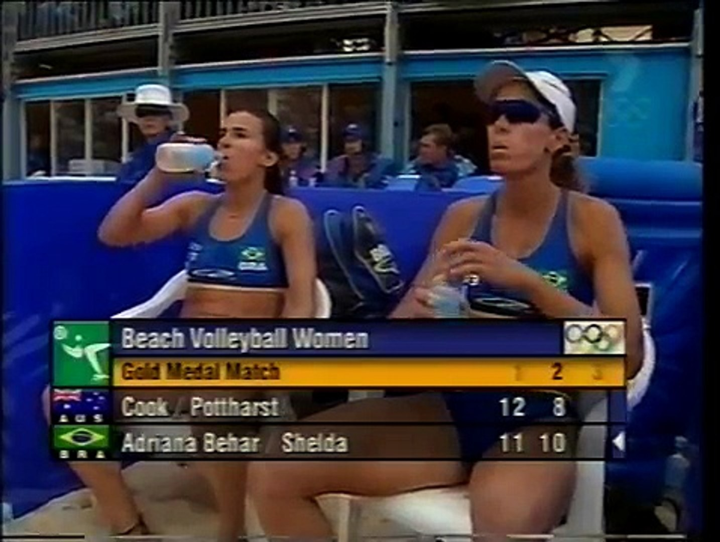 Sydney 2000 Olympics Women S Beach Volleyball Australia Vs Brazil Gold Medal Match Final Stages Video Dailymotion
