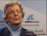 """Paola Binetti (PD) - """"Il Partito Democratico, una scelta nat"""