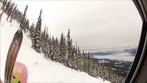 Skiing and Snowboarding at Kicking horse 2015