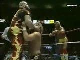 Hulk Hogan & Bam Bam Bigelow vs Ted DiBiase & Virgil (MSG Jan-88)