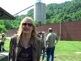 Daryl Hannah Protests Mountaintop Removal Coal Mining
