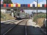 CP 1424 em Lisboa Sta Apolónia, Chelas e Alcântara Docas - 10 Jun 2006