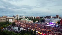 SIBERIA - Novosibirsk city (Timelapse & Hyperlapse)
