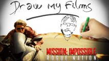 Mission Impossible: Rogue Nation - Ganeshdeux dessine tes films draw my films.