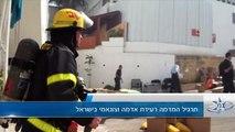 """תרגיל המדמה רעידת אדמה וצונאמי בישראל. צילום : ית""""ל"""