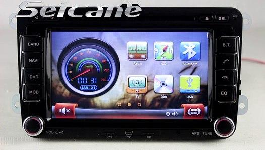 Plug and play 2005-2011 VW Passat Radio DVD Bluetooth with nav
