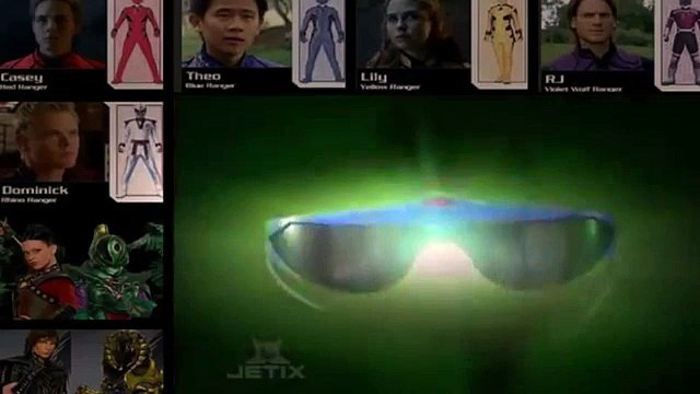 Power Rangers Jungle Fury    Episode 10    Blind Leading the Blind [FULL EPİSODE]