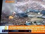 زلزال في اليابان و تسونامي  تخشع له القلوب