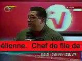 CHAVEZ qualifie Israël de «génocidaire»palestine, génocide, masacre, gaza