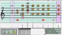 Super Mario Kart: Rainbow Road in Mario Paint Composer