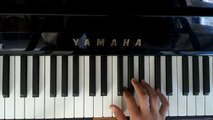 Hall of fame by the script-piano tutorial