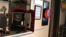 Gamewell Fire Alarm Box Demonstration