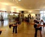 Stage de danse avec HUGUES SALGAS- Echauffement cours avancé