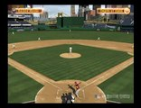 MLB 09: The Show - Miguel Montero throws his bat to the fans
