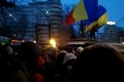 Protest impotriva ACTA Bucuresti