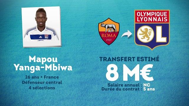 Officiel : Mapou Yanga-Mbiwa est Lyonnais !