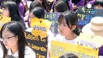 Corea del Sud, protesta delle ex schiave sessuali dei giapponesi durante la II Guerra mondiale