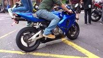 Honda CBR 600 RR & Suzuki 1000 sound 聲浪