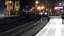 Salzburg Hbf [bei Nacht] - WESTbahn - railjets - Fahrt über die Salzach - IC - AWT
