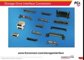 FCI Connectors - Storage Drive Interface Connectors