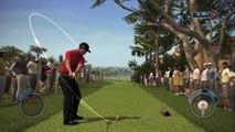 TIGER WOODS PGA TOUR 14 Gameplay - Tiger Woods Birdies at Pebble Beach