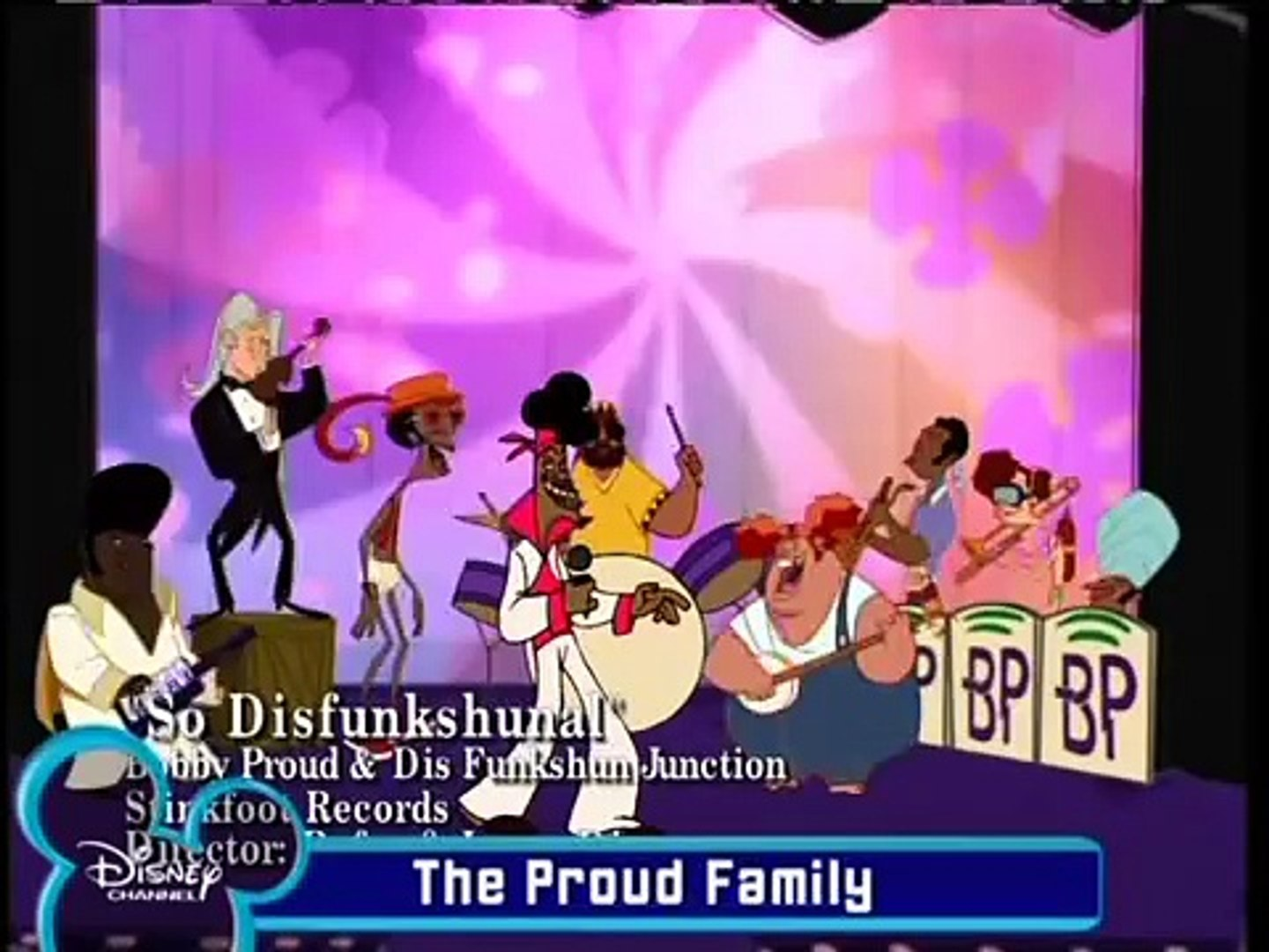 The Proud Family So Dysfunctional
