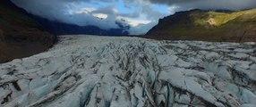 2 minutes d'Islande vue d'un drone