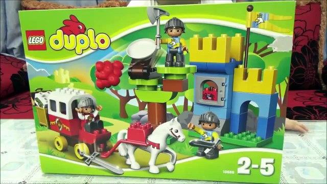 Bé tự lắp ráp Lego xe ngựa kéo   Lego Duplo 10569 2